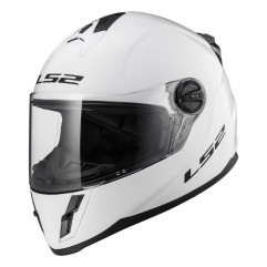 Casco LS2 FF392J KID SOLID - GLOSS WHITE