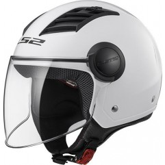 Casco LS2 OF562 AIRFLOW - GLOSS WHITE