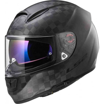 Casco LS2 FF397 VECTOR MATT CARBON