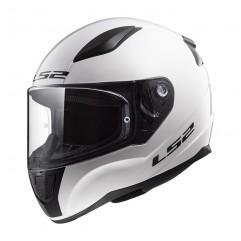 Casco LS2 FF353 RAPID MINI SINGLE MONO - GLOSS WHITE