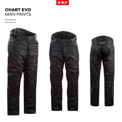 PANT LS2 CHART EVO MAN BLACK