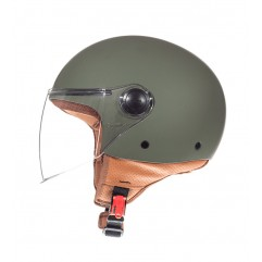 Casco MT STREET SOLID A6 MATT GREEN