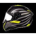 Casco Moto Targo Solid A1 Doppler Fluor mate