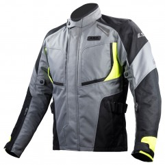 LS2 PHASE MAN JACKET GREY BLACK YELLOW