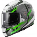 Casco LS2 FF397 VECTOR BIT TITAN - Green