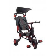 Triciclo Galileo Negro+Rojo