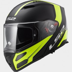 Casco LS2 FF324 METRO EVO RAPID MATT BLACK HI-VIS YELLOW